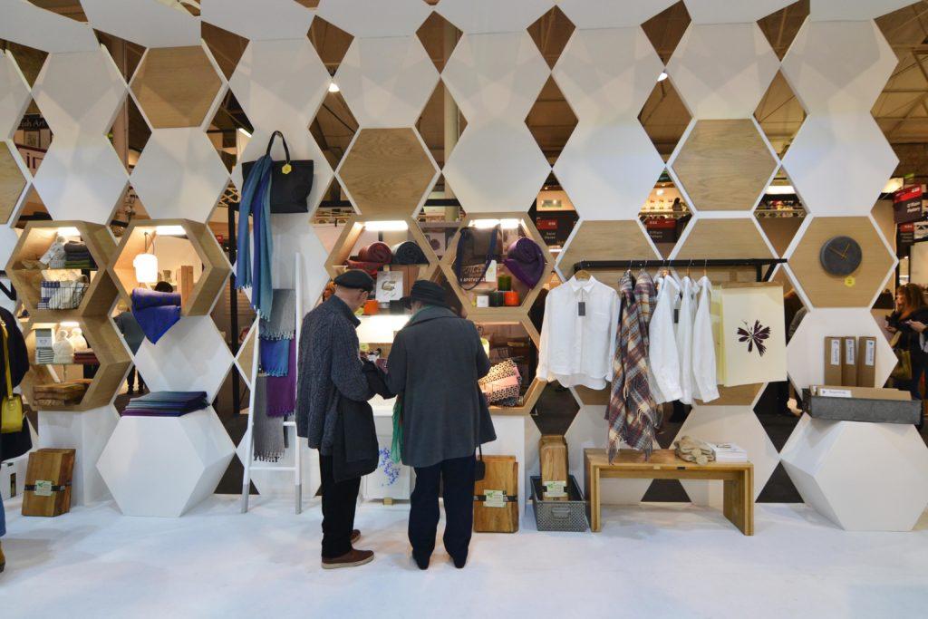 Irish Craft Exhibition Stand, Irish Craft Exhibition Booth, Pop up exhibition stand